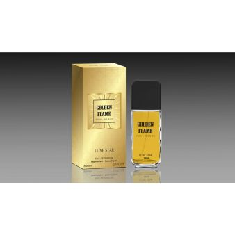 Парфюмерная вода Golden Flame 80 мл., Luxe Star