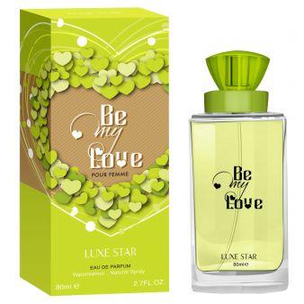 Парфюмерная вода Be My Love 80 мл., Luxe Star