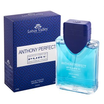 Туалетная вода Anthony Perfect Pure Instruction 100 мл., Lotus Valley