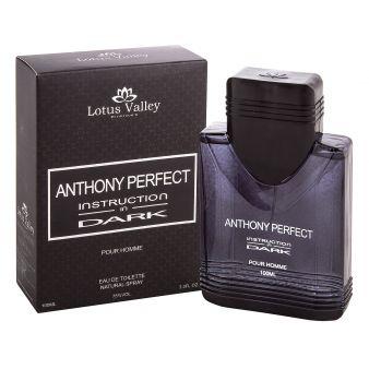 Туалетная вода Anthony Perfect Instruction In Dark 100 мл., Lotus Valley