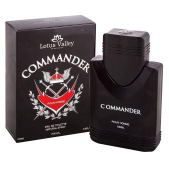 Туалетная вода Commander 100 мл., Lotus Valley